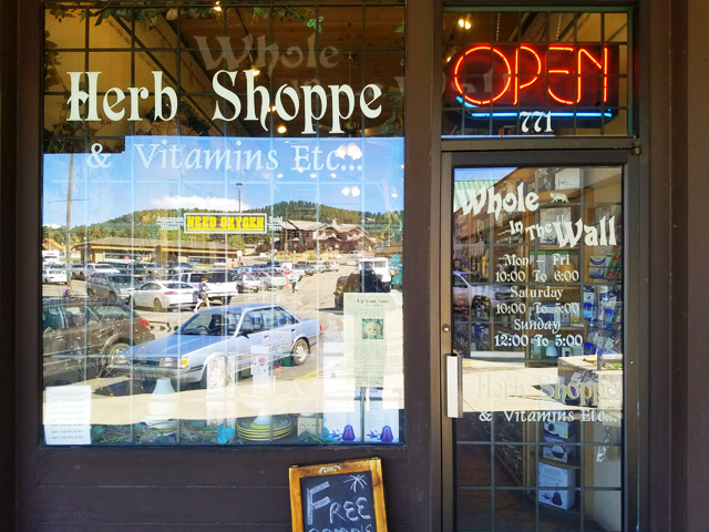Whole In The Wall Herb Shoppe |
